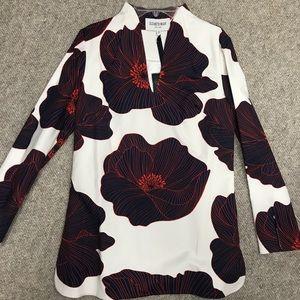 Elizabeth McKay floral tunic
