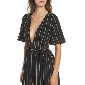 cc4b95889066 Socialite Dresses - Socialite Stripe Maxi Romper