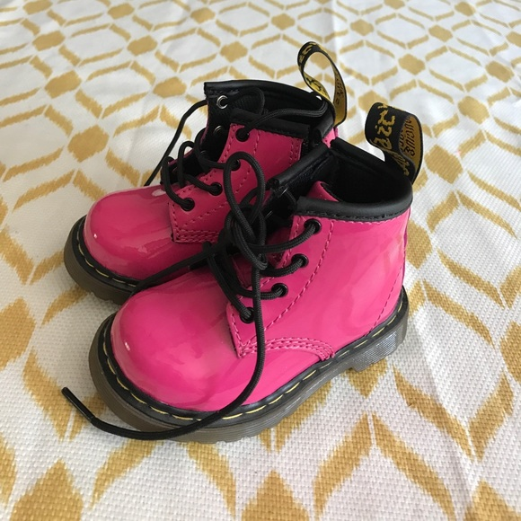a9501b683 Dr. Martens Shoes | Baby Girl Dr Marten Airwair Boots Hot Pink Nwot ...