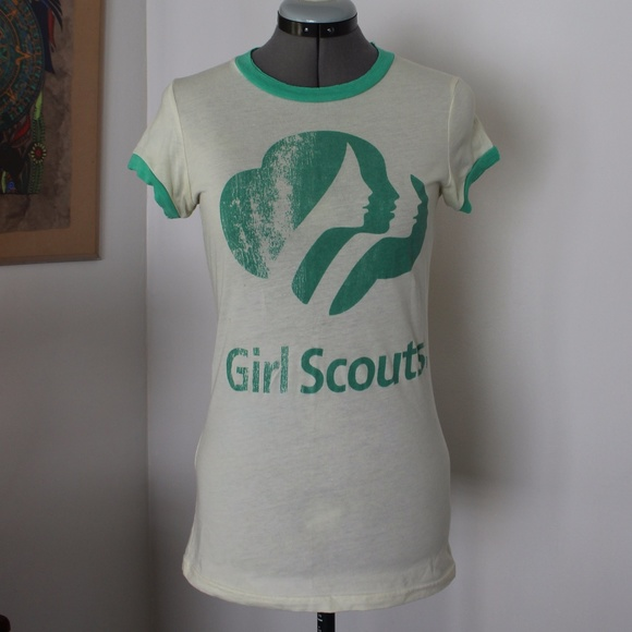 f541b1fdd Junk Food Clothing Tops | Urban Outfitters Vintage Girl Scouts Tee ...