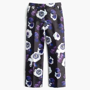 J CREW Patio pant in violet poppy 0