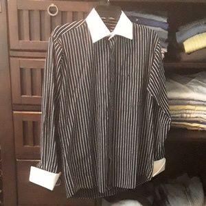 Stacy Adams dress shirt sz 14 1/2