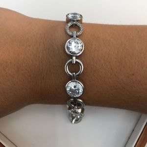 Jewelry - Silver cz bracelet