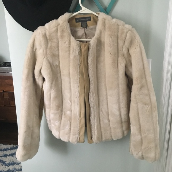 custom sale shop best sellers banana republic faux fur bomber with suede accents