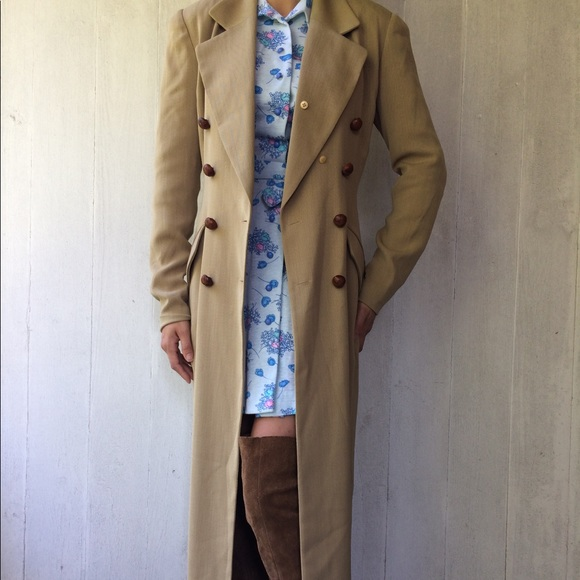 76875c12ae9 Vintage Jackets & Coats   Dana Buchman Duster Coat   Poshmark