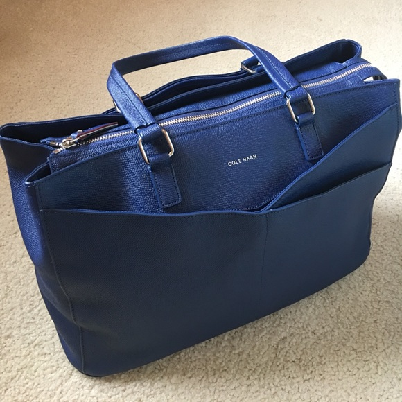 f2027aa3788 COLE HAAN Handbags - NWOT COLE HAAN Large Blue Tote