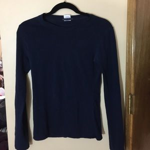 ZENANA OUTFITTERS  navy long sleeve tshirt
