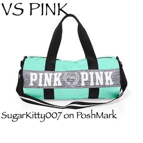 3831021ad5 Victoria s Secret PINK Gym Duffle Bag Backpack