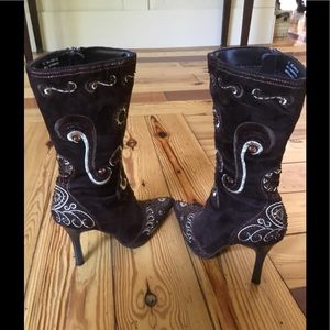 Shoes - Sexy heeled boots from NYC boutique