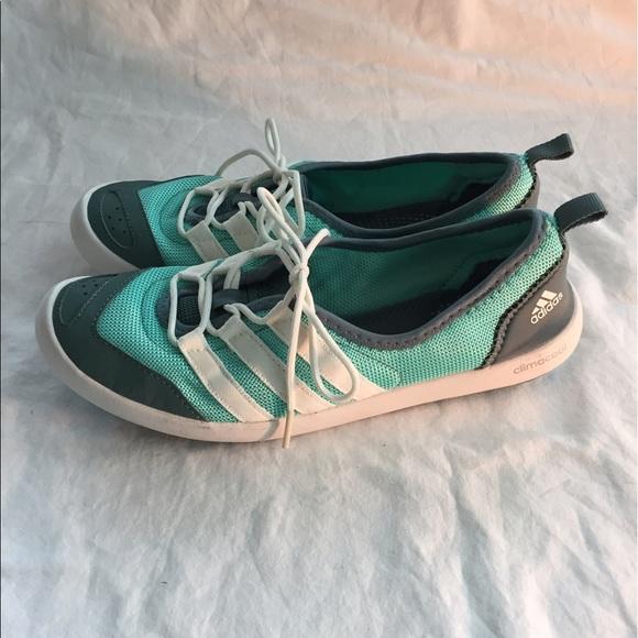 Adidas zapatos  mujer ClimaCool Boat elegante zapato poshmark agua