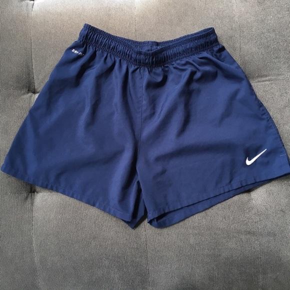 nike shorts navy