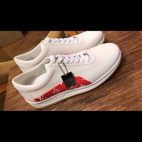 03ab795b94fe Louis Vuitton x Supreme limited edition sneakers