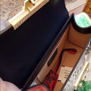 Selfmadebabes.com Bags - Trendy Python Genuine Leather Bag