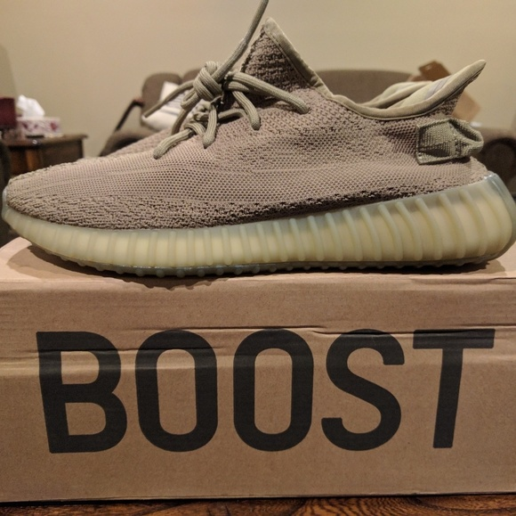 20444457c1a Adidas Yeezy Boost 350 v2 Earth Green Size 11