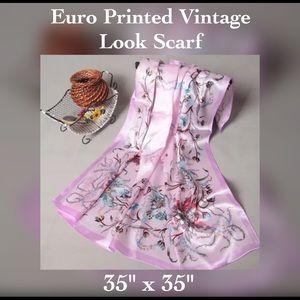Accessories - ✨Satin Pink Ladies Scarf / Wrap