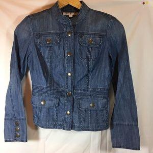 Tommy Hilfiger Tailored Denim Jacket Snaps Size M
