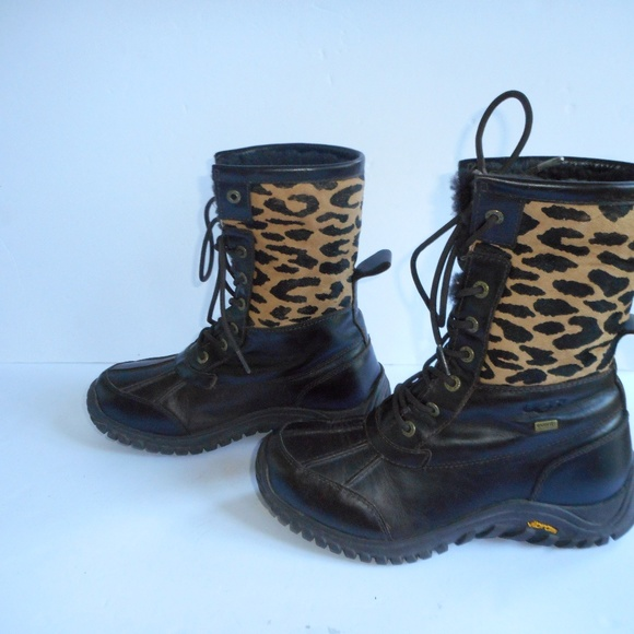 UGG Adirondack Leopard Print Waterproof boot