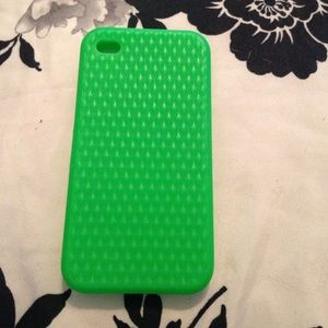 Accessories - iPhone 4 green sparkly case
