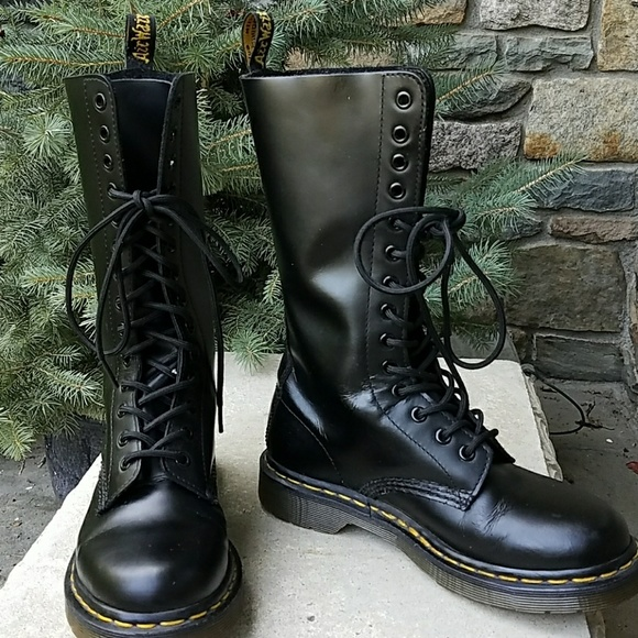 newest 21cce ff0ad Dr Martens 1914 tall 14 eye boots