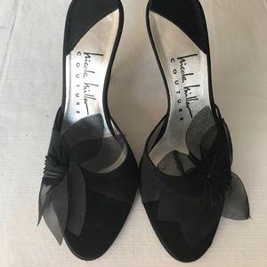 Nicole Miller black dress pumps size 6