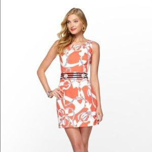 Lilly Pulitzer Kirkland Dress in Tango Orange