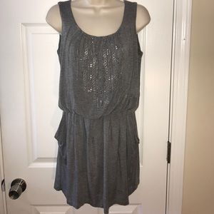 Alfani embellished casual dress sz XS soft cotton