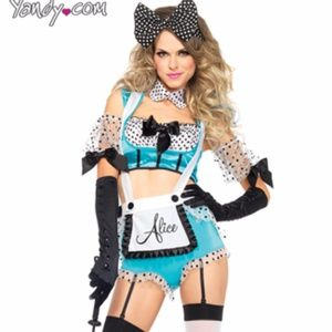 leg avenue Shorts - VIXEN ALICE COSTUME