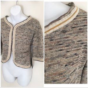 New Italian light weight Lurex cardigan