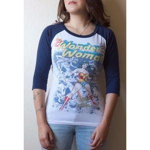 Wonder Woman long sleeve tee
