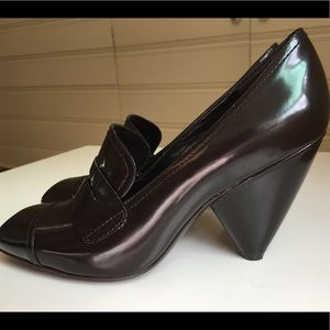 Vince Camuto Shiraz Penny Loafer Heels