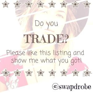 Traders welcome!