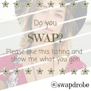 LIKE IF YOU SWAP! 🧜‍♀️ Get notified when I list!