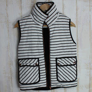 🆕Gold Rose Detail Stripe Vest