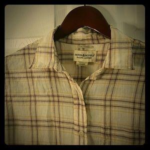 Tops - RL Tomboy fit Denim & Supply shirt