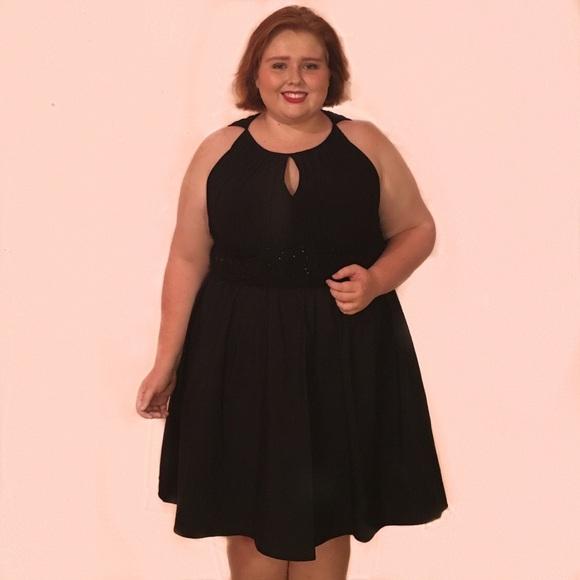 Jessica Howard Dresses Plus Size Black Homecoming Dress Poshmark