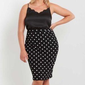 Dresses & Skirts - Polka Dot midi skirt
