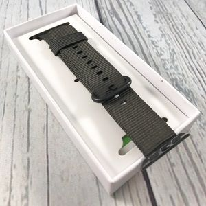 Accessories - 38mm Black Nylon Band for Apple Watch