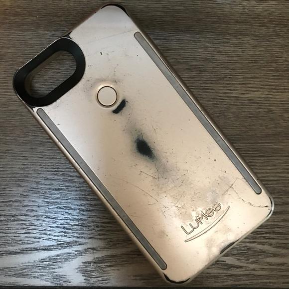 buy popular 784ba 5dc82 LuMee Duo Gold iPhone 7 Plus Case