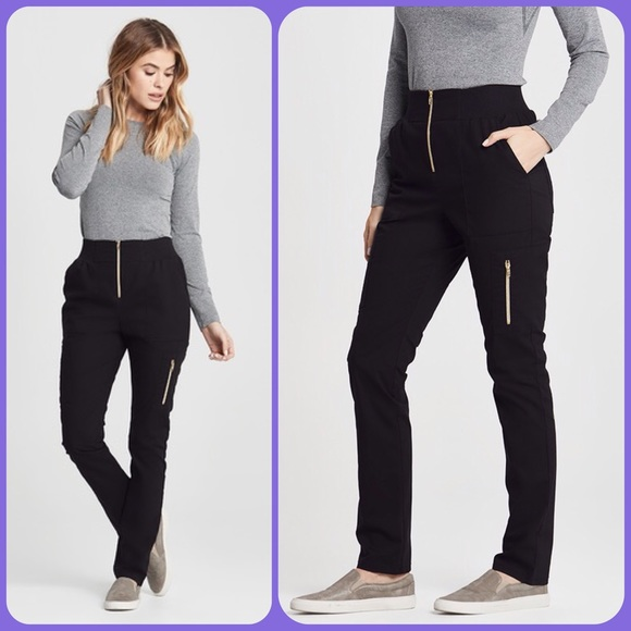 ecd189640e Jaanuu Pants - Jaanuu black high waist scrub pants