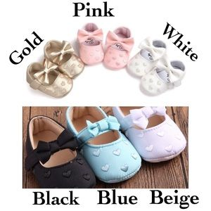 Other - 🌸 Baby Girl Mary Jane Shoes, 0 - 6 months