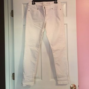 Limited White Skinny Jeans