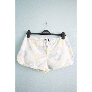 Material Girl | Floral Swim/Board Shorts