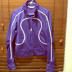 Purple lululemon original jacket