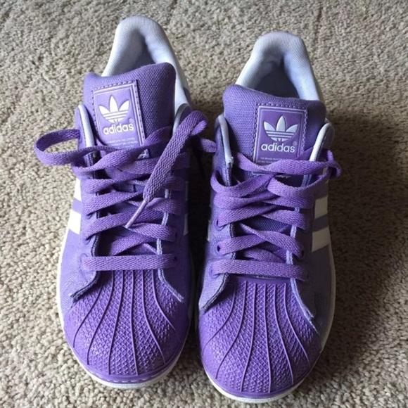330f050a6de46 adidas Shoes - Adidas Purple Shell Toes
