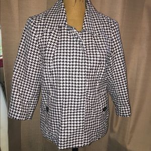 NWOT Erin London hounds tooth jacket!