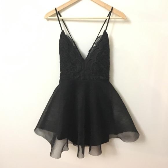 96c18bfaab18 Luxxel Dresses   Tulle Mini Dress In Black   Poshmark