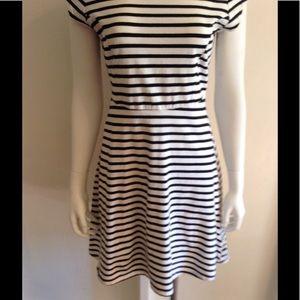 Old Navy strip cotton dress