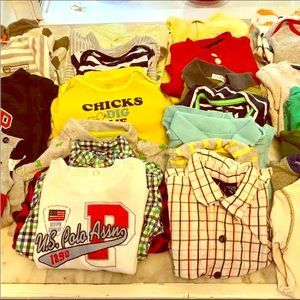 Other - Lot of Boys Shirts/onesies (6-18 months)