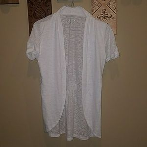 Maurices White open cardigan
