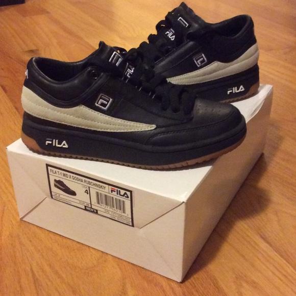 fc2dc0f2b5b5 Fila Shoes - Gosha Rubchinskiy x Fila T-1 mid